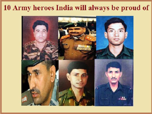 Kargil heroes India will always be proud of