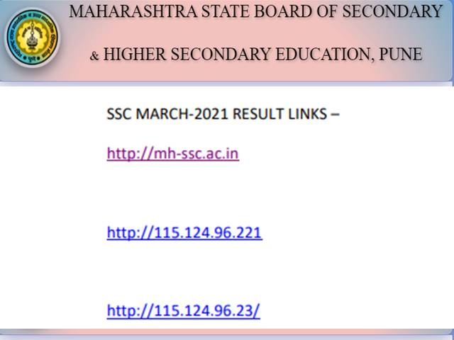 Maharashtra 10th result