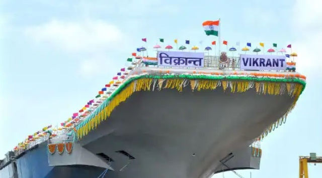 INS Vikrant, India's first aircraft carrier to be commissioned in 2022