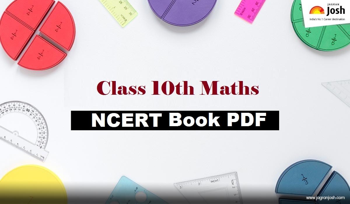 Class 10th Mathematics NCERT Book