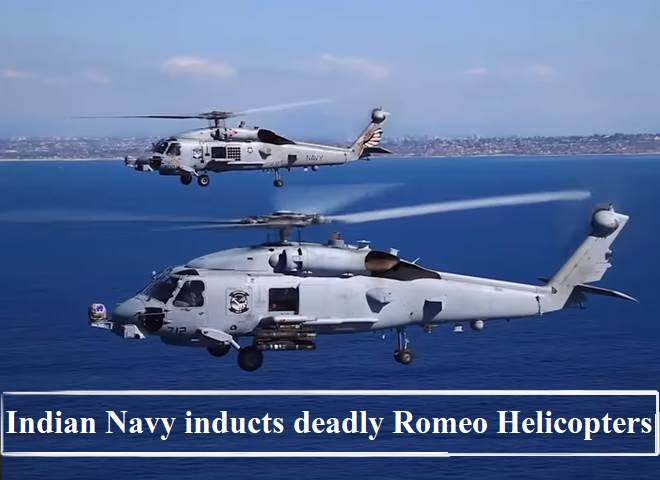 Indian Navy receives two MH-60R helicopters from US: Here's all you need to know