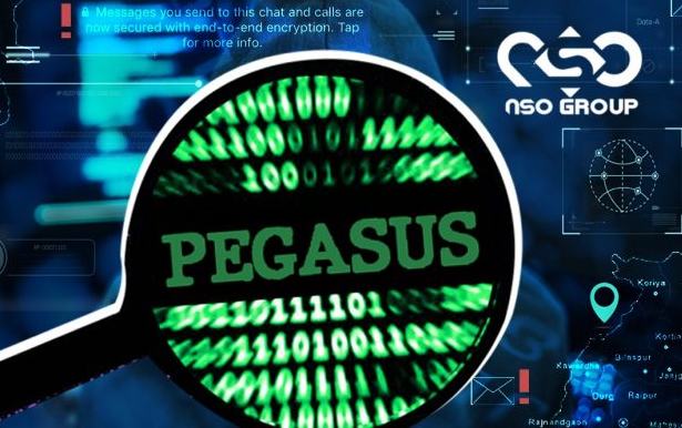 Pegasus is a hacking software created by the Israeli NSO group.