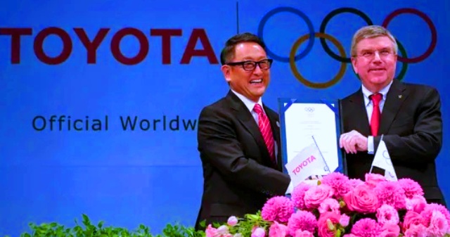 Top Olympic sponsor Toyota to not air Olympics-themed TV commercials