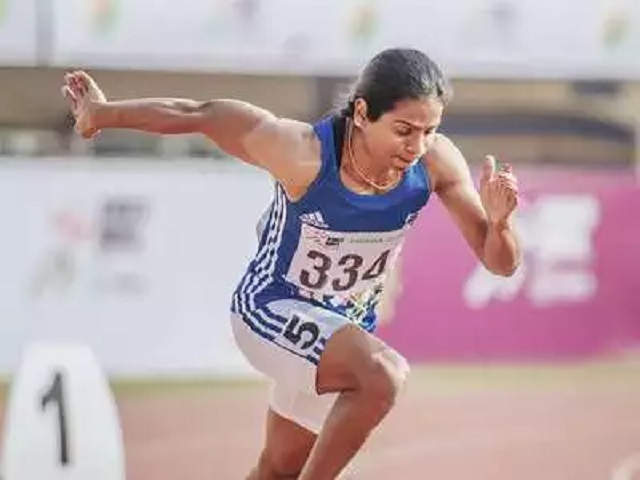 Dutee Chand, Indian Athlete, Source PTI