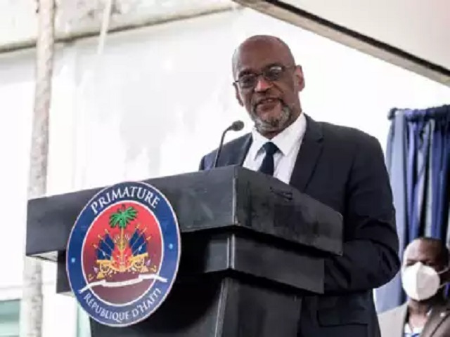 Ariel Henry, PM Haiti, Source: AFP