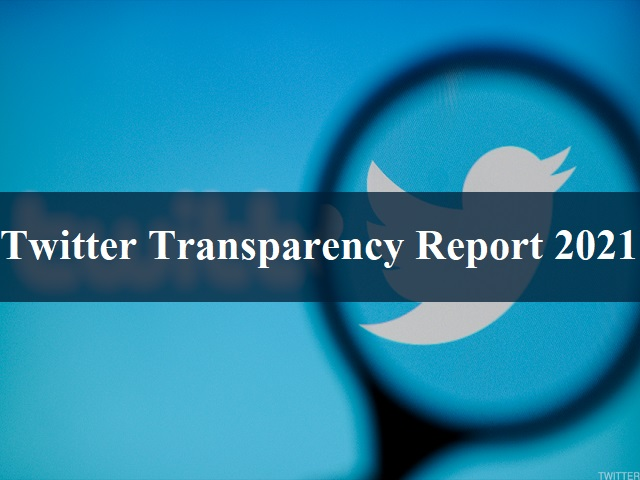 Twitter Transparency Report 2021