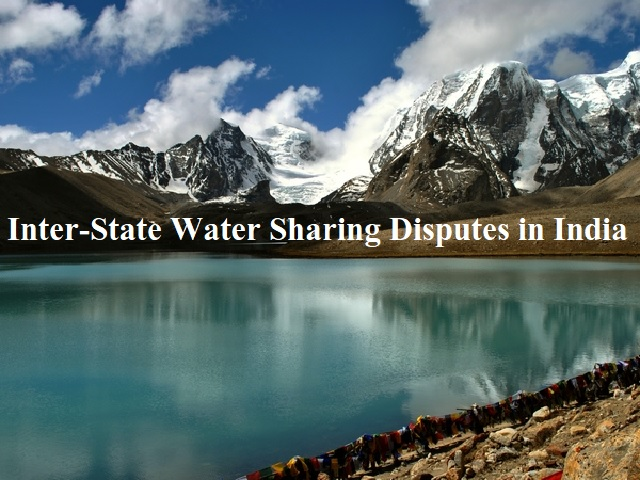Inter-State Water Sharing Disputes in India