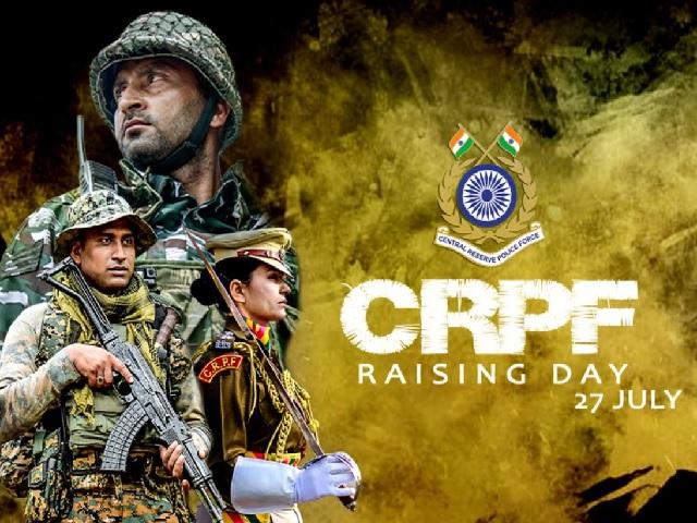CRPF Raising Day 2021