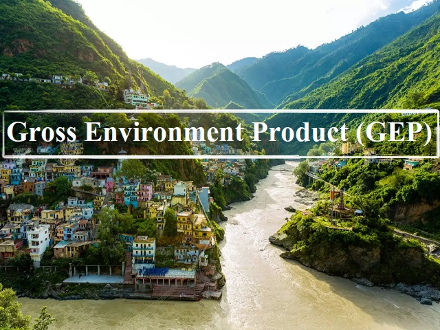 What is Gross Environment Product (GEP)?