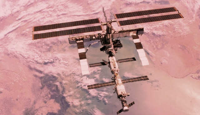 International Space Station briefly thrown out of control due to misfire, crew members never in danger: NASA