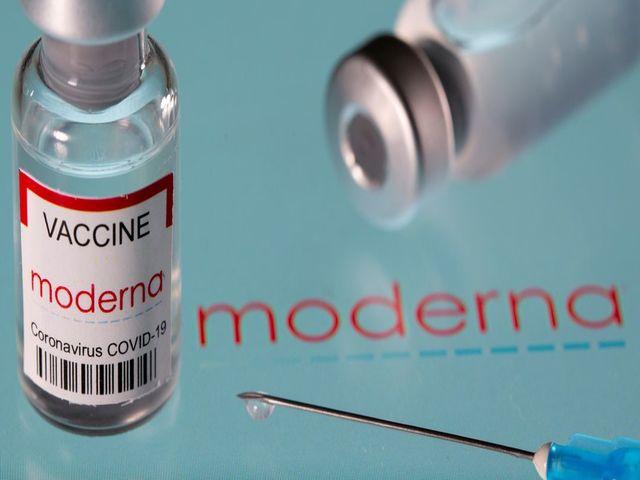 Moderna's mRNA COVID-19 vaccine, Source: Reuters