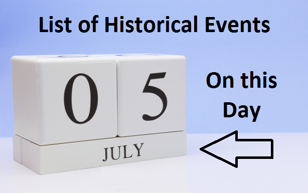 On this Day, July 5