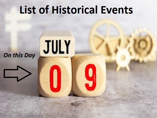 On this Day, July 9