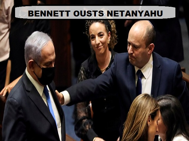 Naftali Bennett ousts Benjamin Netanyahu