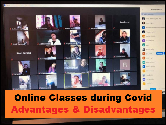 Top 5 Advantages and Disadvantages of Online Classes for Students during Pandemic  CBSE