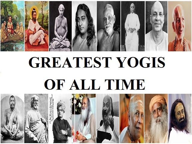 List Of Greatest Indian Yogis Of All Time