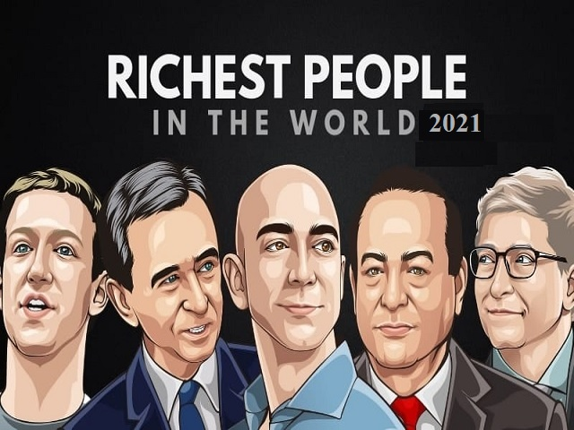List of 20 Richest person in the world 2021