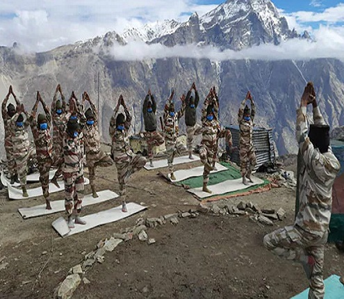 Indian Army Yoga Day