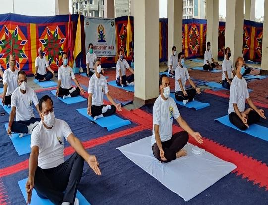 bengal yoga day celebration