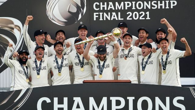 New Zealand crowned World Test Champions after thrilling final day