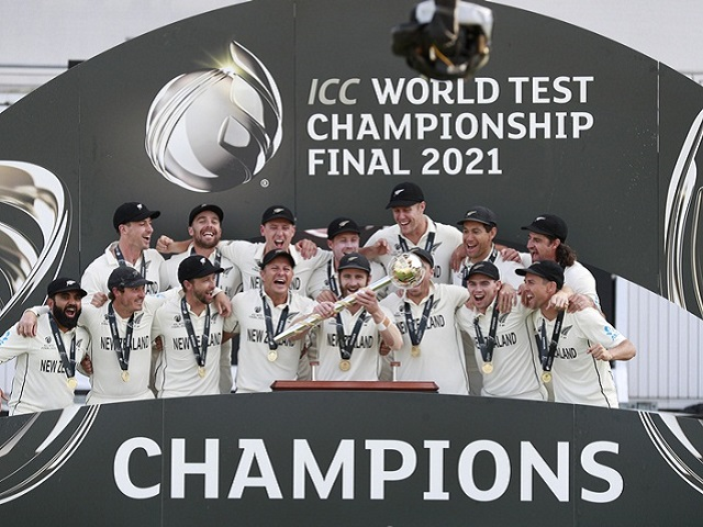 ICC World Test Champions- New Zealand, Source: Twitter