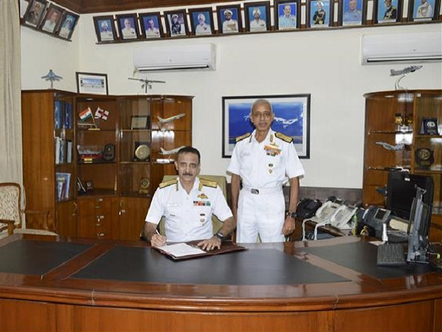 Vice Admiral Ravneet Singh takes charge as Deputy Chief of Naval Staff