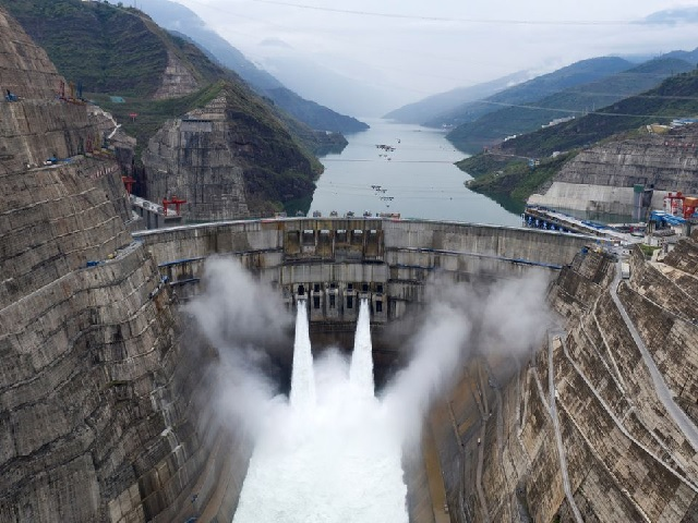 World's second largest hydropower station in China