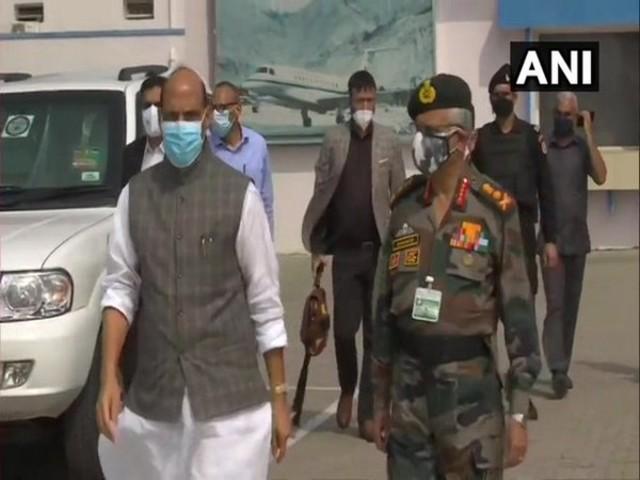 Defence Minister Rajnath Singh, Source: ANI