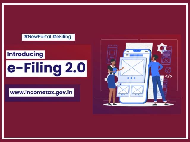 New Income Tax Filing Portal 2.0