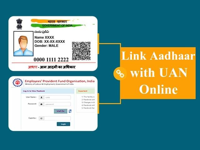 Link your Aadhaar with UAN online