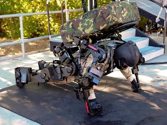 Exoskeleton Suit for Indian Army by DRDO