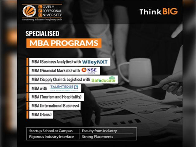 Done with CAT? Here's why you should consider MBA from LPU's B-School