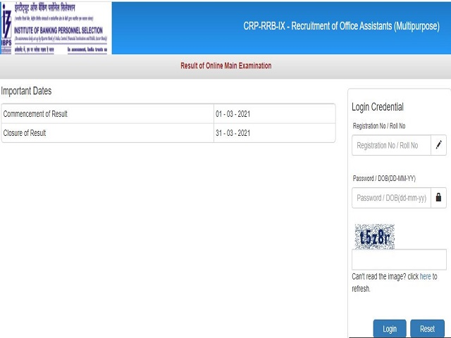 IBPS RRB Clerk Mains Result 2021 Out: Check Scores, Provisional Allotment for CRP RRB IX Office Assistant @ibps.in - Jagran Josh