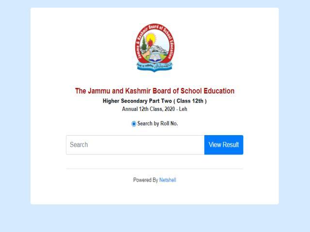 JKBOSE Class 12 Leh Division