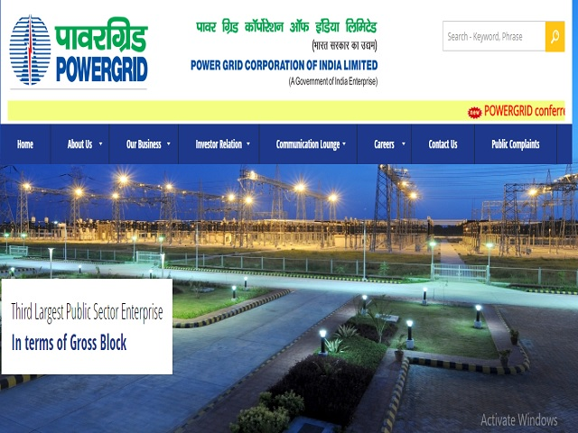 Apply Online for Powergrid Executive Trainee (ET) Posts @powergridGadgetClock.com, Download Notification
