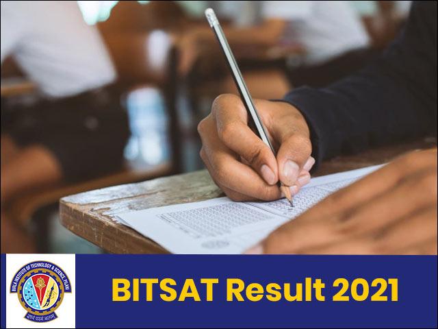 BITSAT Result 2021