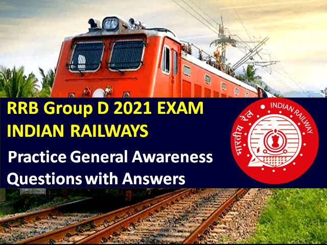 Practice General Awareness (GA)/GK Indian Railways Questions to Score High Marks in Computer Based Test (CBT)