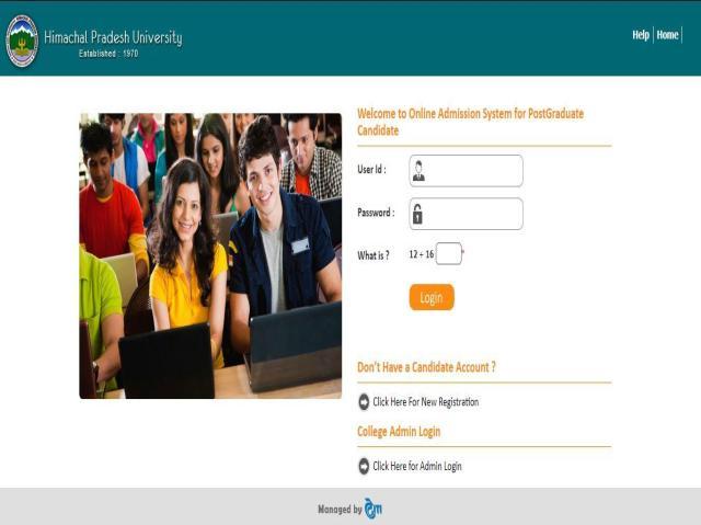 HPU MAT 2021 Applications