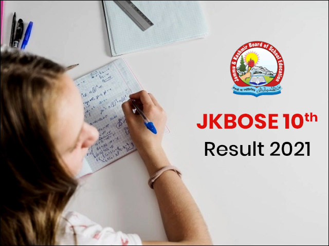 JKBOSE 10th Result 2021