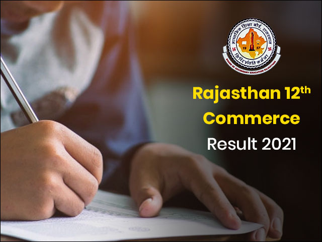 Rajasthan 12th Commerce Result 2021