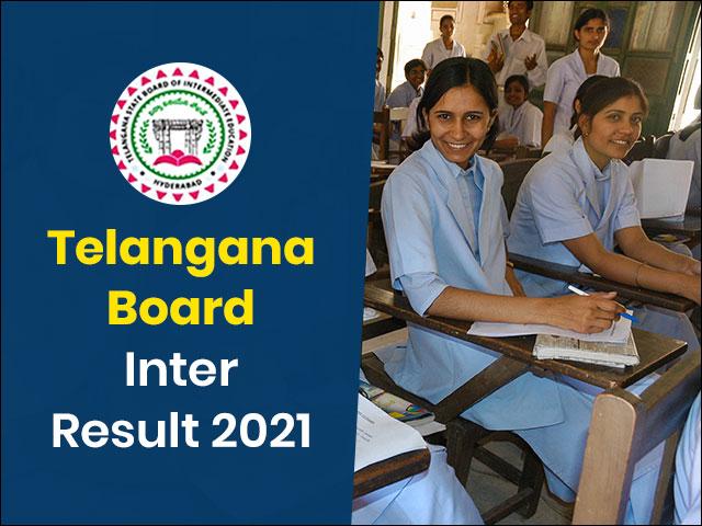 Telangana Board Inter Result 2021