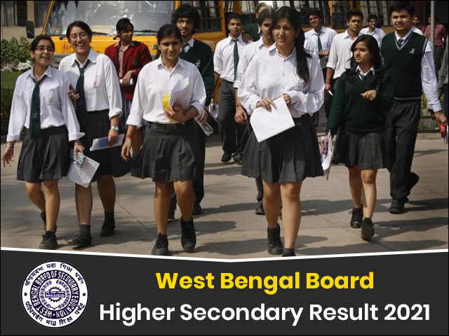 West Bengal Board Higher Secondary Result 2021