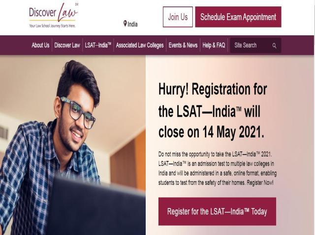 LSAT India 2021 Registrations