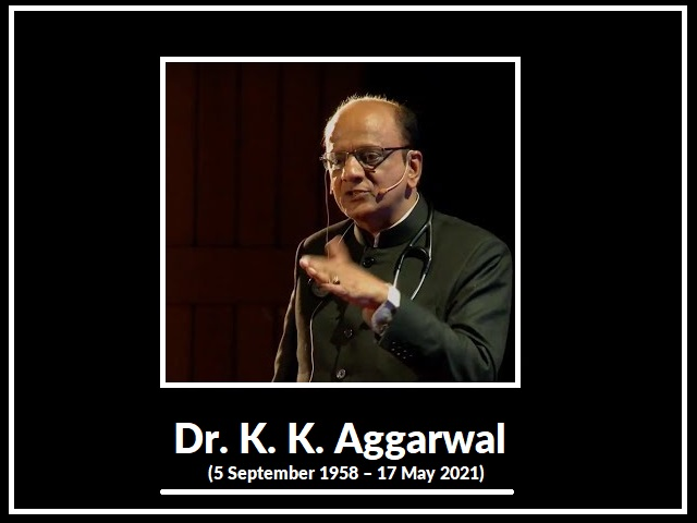 Dr. K. K. Aggarwal Biography