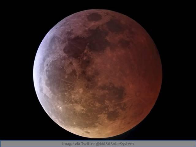 Lunar Eclipse 2021   Super Blood Moon 2021