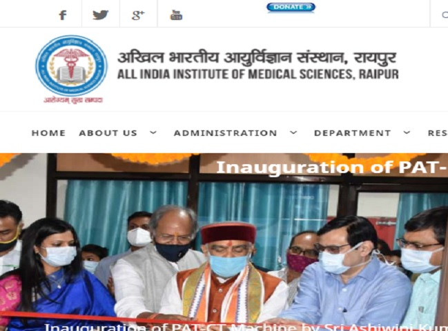 AIIMS Raipur Recruitment 2021 for Technical Assistant and other Posts @aiimsraipur.edu.in, Download PDF