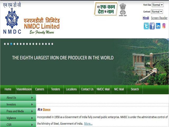 NMDC Recruitment 2021 for Jr Officer, Workman, Manager and Other Posts, Apply Online @nmdc.co.in