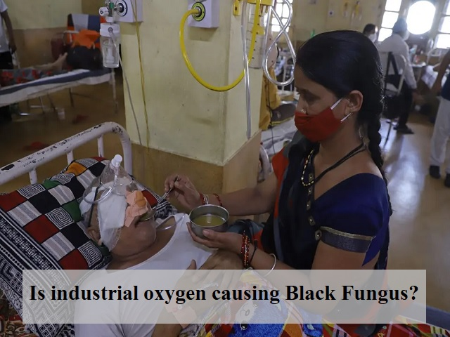 Role of industrial oxygen behind the COVID-induced Black Fungus