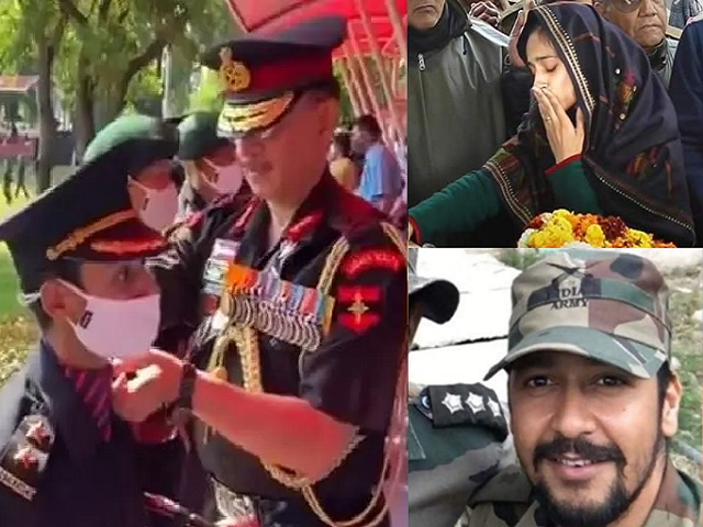 Pulwama Martyr Major Dhoundiyal's wife Nikita Kaul joins Indian Army