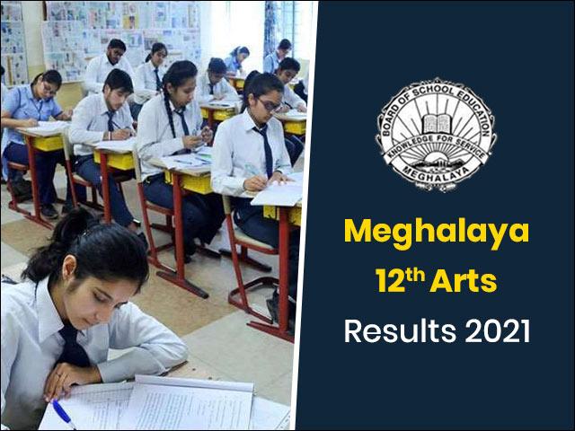 Meghalaya Board 12th Arts Result 2021